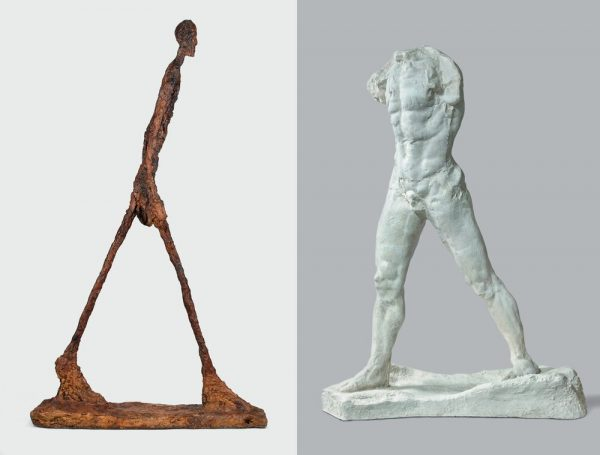 Rodin and Giacometti - Until Aug 23