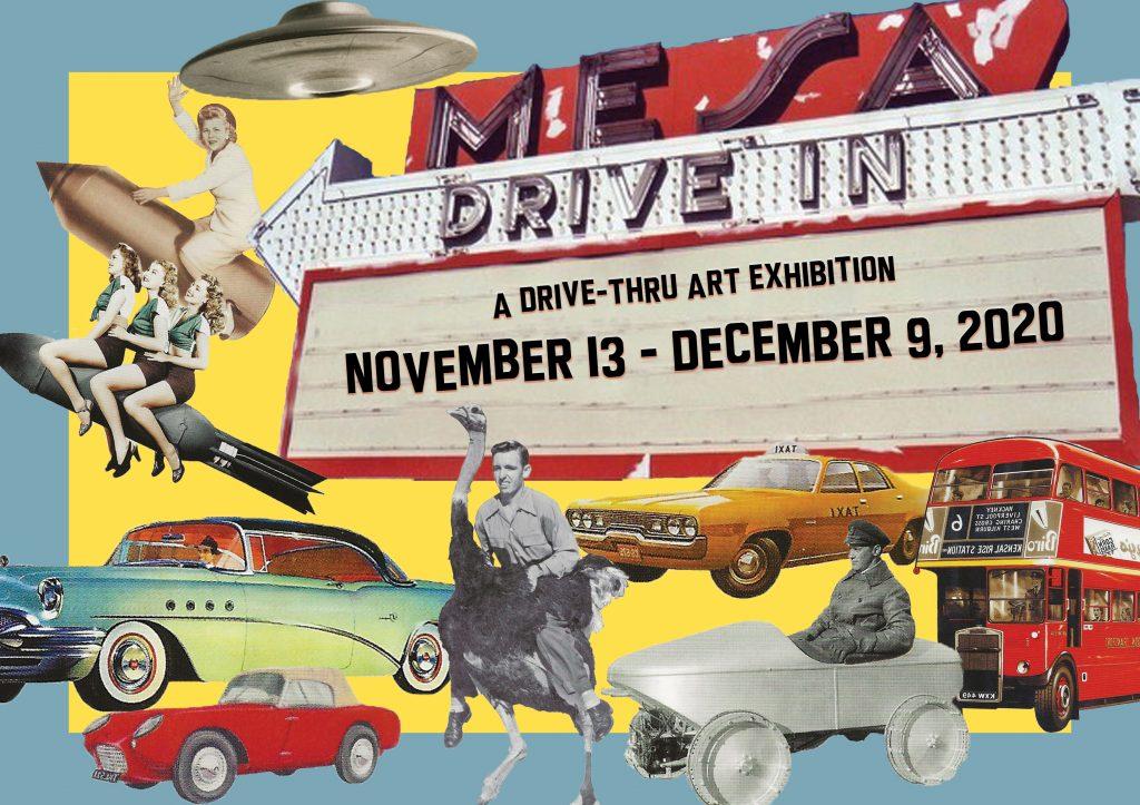 First drive-thru art exhibition