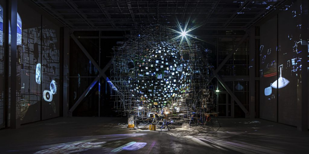 "Sarah Sze  ""Night into Day"""