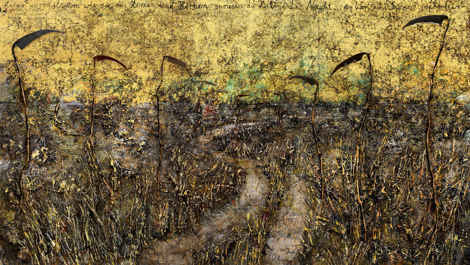 "Anselm Kiefer ""Field of the Cloth of Gold"""