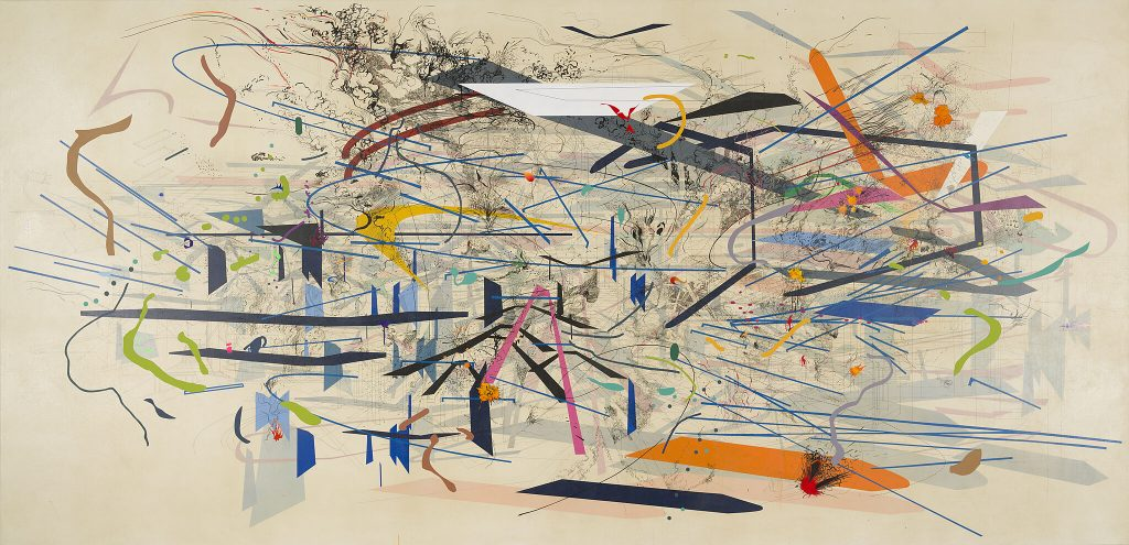 Julie Mehretu at New-York